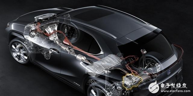 雷克萨斯首款新能源车型预告