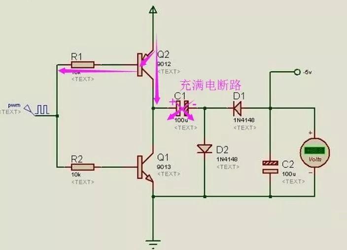 通过PWM波输出负电压的方法介绍