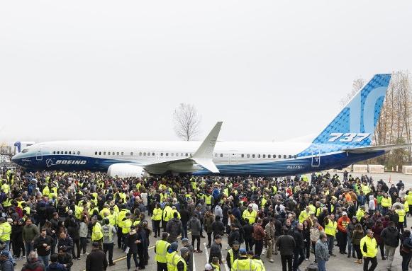 波音737 MAX 10系列飞机目前已经获得了超过550架订单