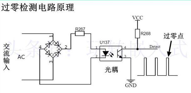 过零检测电路的原理_过零检测电路的优缺点