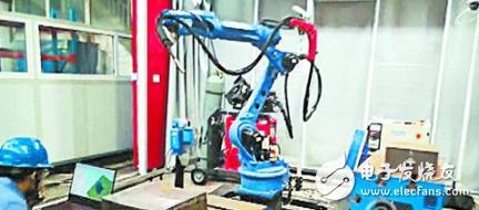 智能機器人助力焊接領域發展 大幅度的提升了工作效率