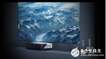 激光电视具有其他电视没有的优势 是最接近电视终极显示的产品