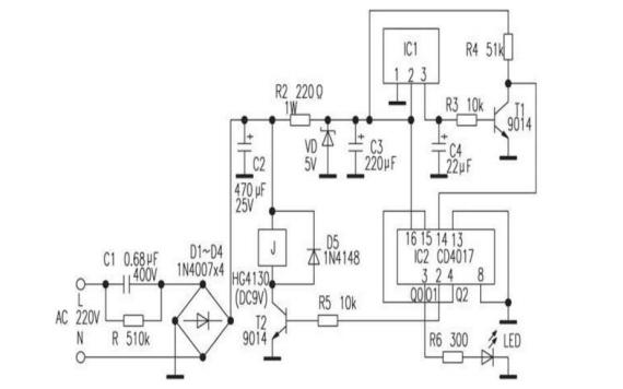 两种自制遥控的开关电路详细介绍