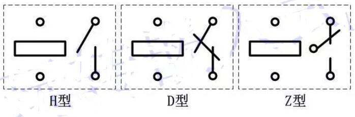 继电器触点类型_继电器触点形式