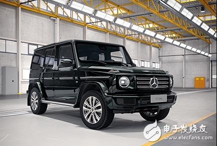 奔驰新款大G上市 裸车售价超160万