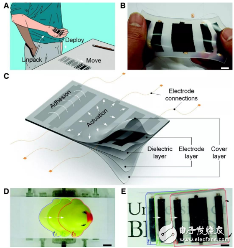 ElectroSkin机器人皮肤亮相 是下一代软体机器人的新的基本构建块
