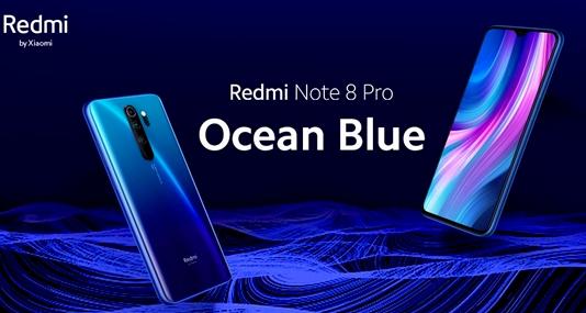 Redmi Note 8 Pro将推出海洋蓝新配...