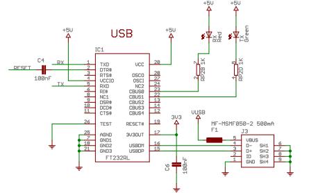 Arduino Nano Rev3.2电路原理图免费下载
