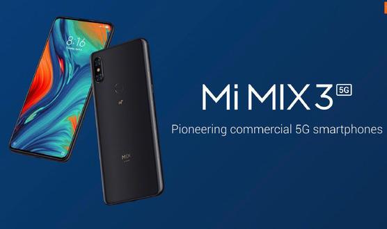 小米MIX 3 5G版正式入网工信部该机搭载骁龙855平台支持单模5G网络