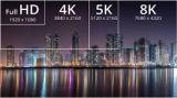 LG和三星争夺8K电视市场,相继展示8K电视