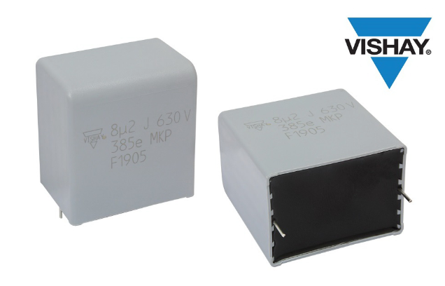 Vishay 推出适用于混合动力和电动汽车的聚丙烯薄膜电容器