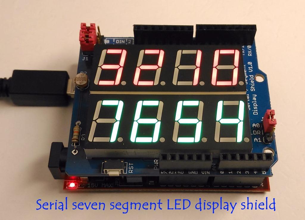 串行七段式LED显示屏护罩的介绍