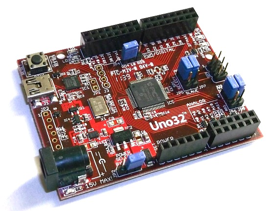 chipKIT Uno32板的板载功能介绍