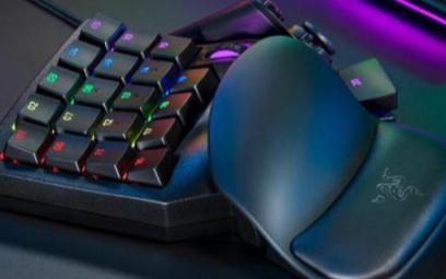 雷蛇Tartarus Pro单手键盘,拥有32枚可编程按键