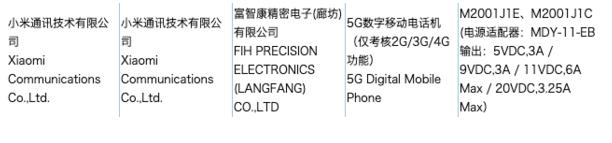 小米10曝光将支持5G网络辅以最高12GB内存支...