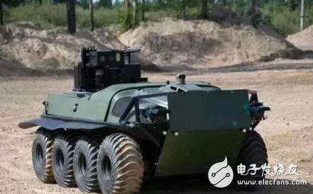 俄罗斯军事机器人威力猛 具备有打造无人装甲军团的...
