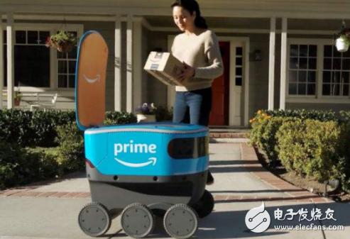 """配送机器人市场的""""神仙打架"""" 行业的竞争程度进一步升级"""