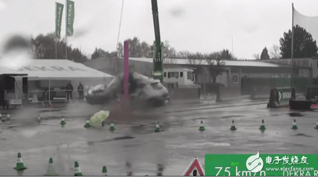 德国进行变态级电动车碰撞测试 让消费者直观感受到...