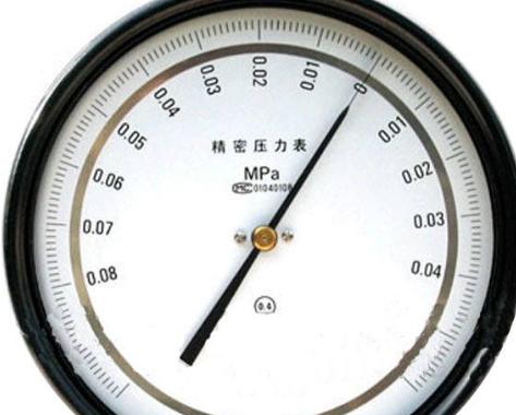 精密压力表的基本参数和检定方法
