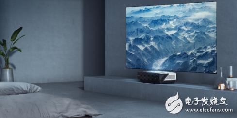 随着激光电视的出现 屏幕尺寸增大趋势正将迎来加速期