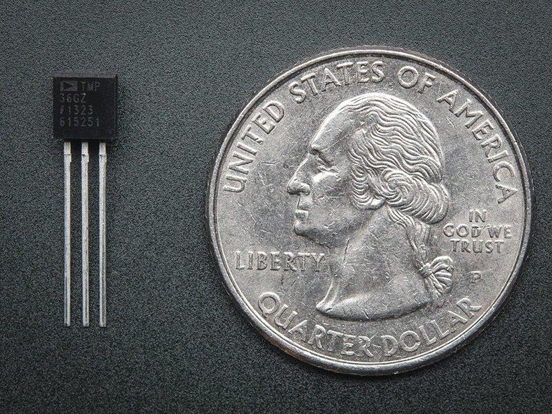 TMP36温度传感器的使用