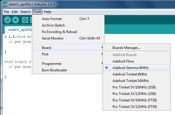 如何安装Arduino IDE以与Adafruit的板一起使用