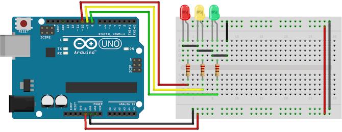 Arduino交通灯控制器项目教程
