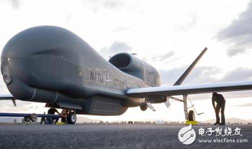 """北约首架""""全球鹰""""无人机进驻意大利 推动北约军事..."""