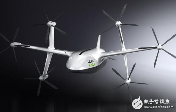 优步正在加速测试 为其送餐无人机揭开新面纱