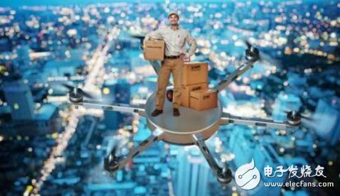 快递无人机送货便捷 让生活变得更加简单