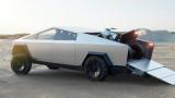 续航500英里 Tesla发布首款电动皮卡Cybertruck