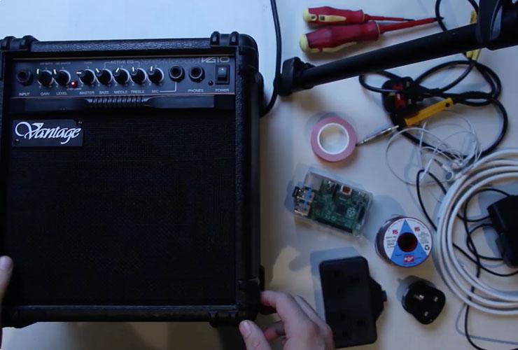 如何用树莓派将老式放大器变成智能流媒体扬声器