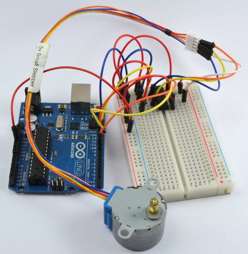 如何使用Arduino和Arduino控制步进电...