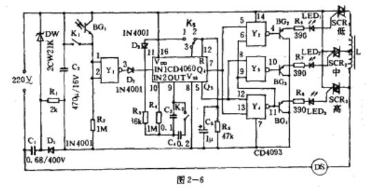 可控硅控制器接线图
