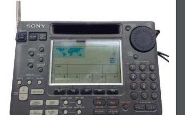 索尼ICF-SW55收音机的中文操作手册免费下载
