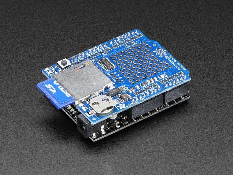 Adafruit数据记录仪防护板的说明