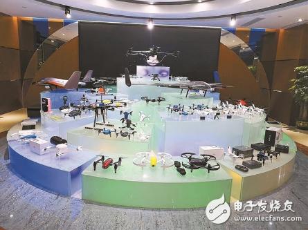 """无人机测试场投用将形成""""磁石效应"""" 进一步推进无人机产业聚集"""