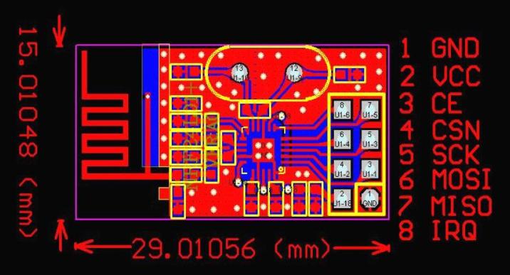 nRF24L01無線模塊在PIC16F877單片機上的應用解析