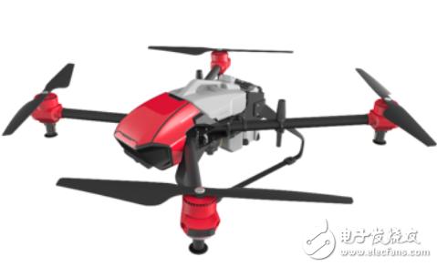 极飞物流无人机试飞 全程飞行距离约为1.6公里