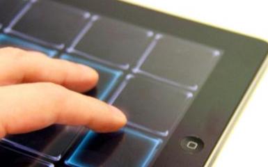 纳米银触控屏可以充分满足折叠手机的弯折需求