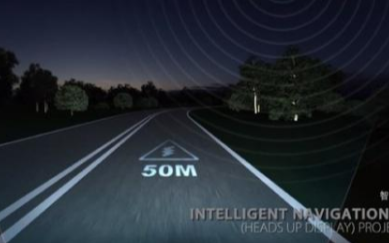 智能交通产业科技公司发布全球首款可编程智能交互大灯