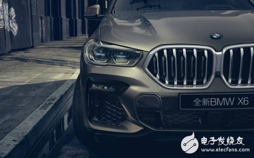 全新宝马X6正式上市 搭载L2级智能驾驶颇具竞争...