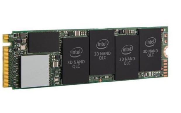 英特尔推出第二代QLC 1TB版本的固态硬盘——...