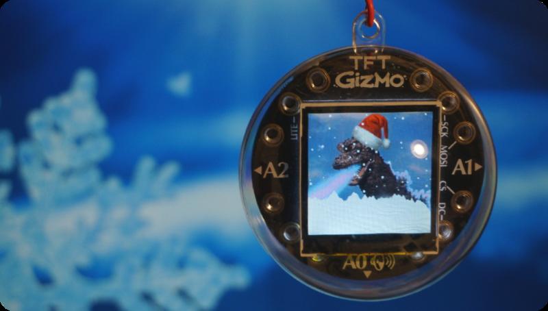 如何使用Circuit Playground Bluefruit和TFT Gizmo创建数字版本的雪球