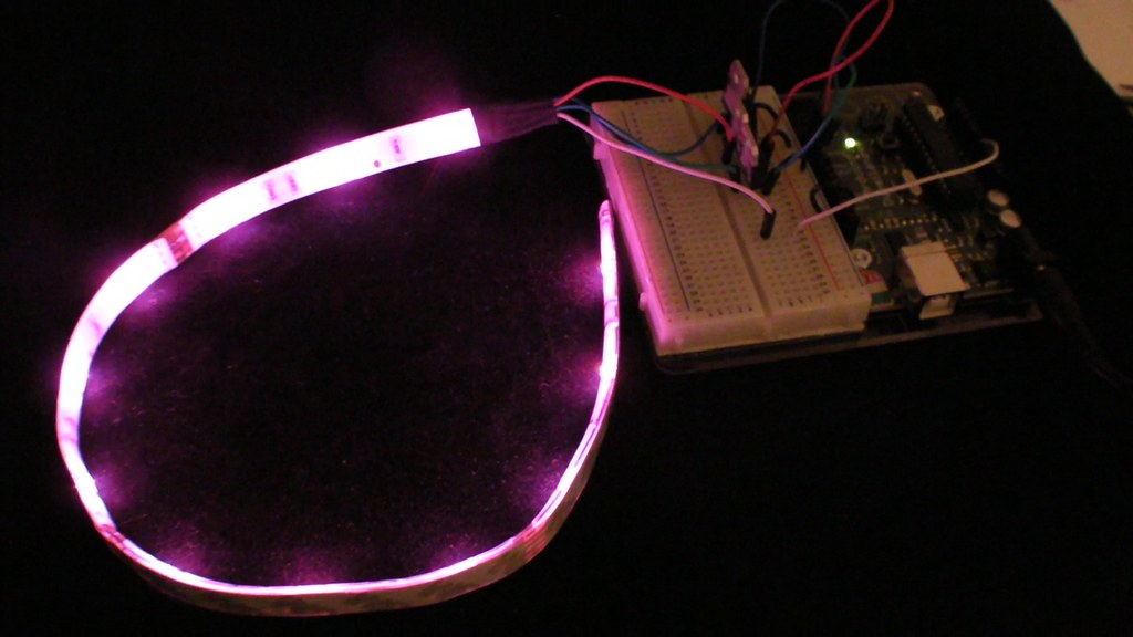 RGB LED灯条制作