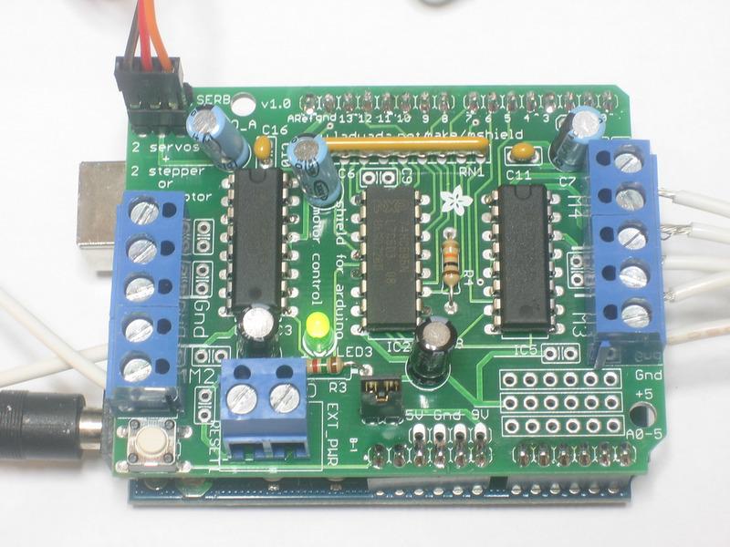 Adafruit电动机防护罩的制作