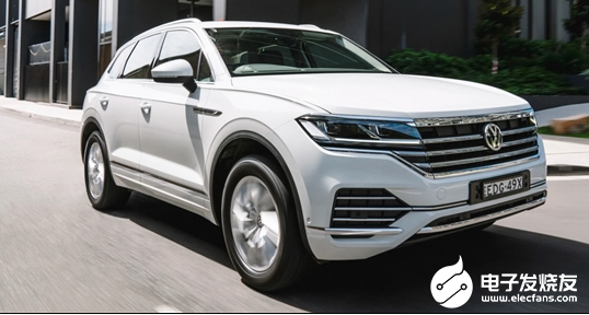 大众发布新大型SUV 并以进口形式在国内销售