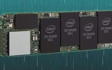 Intel第二代QLC固态盘665p,极速1.8...