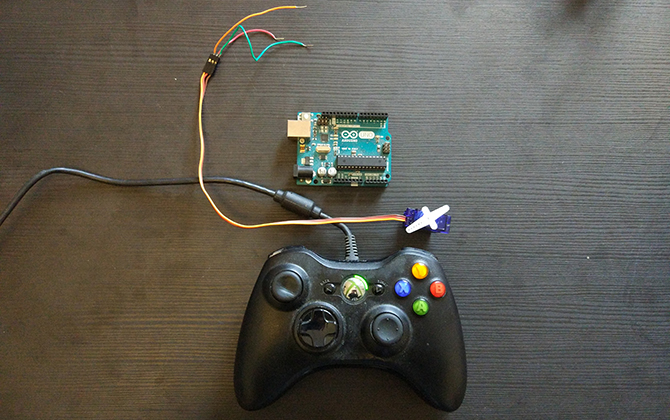怎样使用游戏控制器和Arduino控制机器人