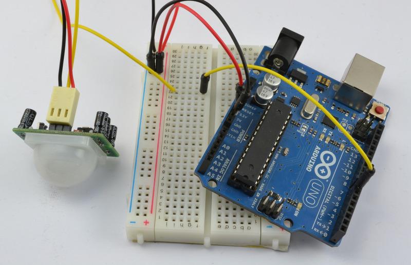 如何在Arduino上使用PIR运动检测器